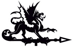 флюгеры с Драконом