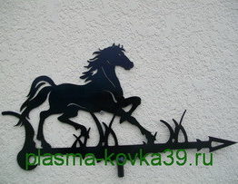 флюгеры конь