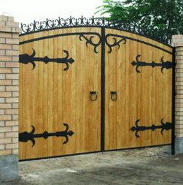 забор деревянный, ворота деревянные, забор, забор из дерева, калитка из дерева, забор из дерева, калитки, ворота