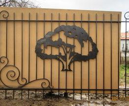 забор с кованными элементами, забор кованный, заборы кованные, забор сварной, забор металлический, забор с элементами ковки, кованные элементы, ковка для забора, забор, ограждения, заборы, декор для забора, элементы декора